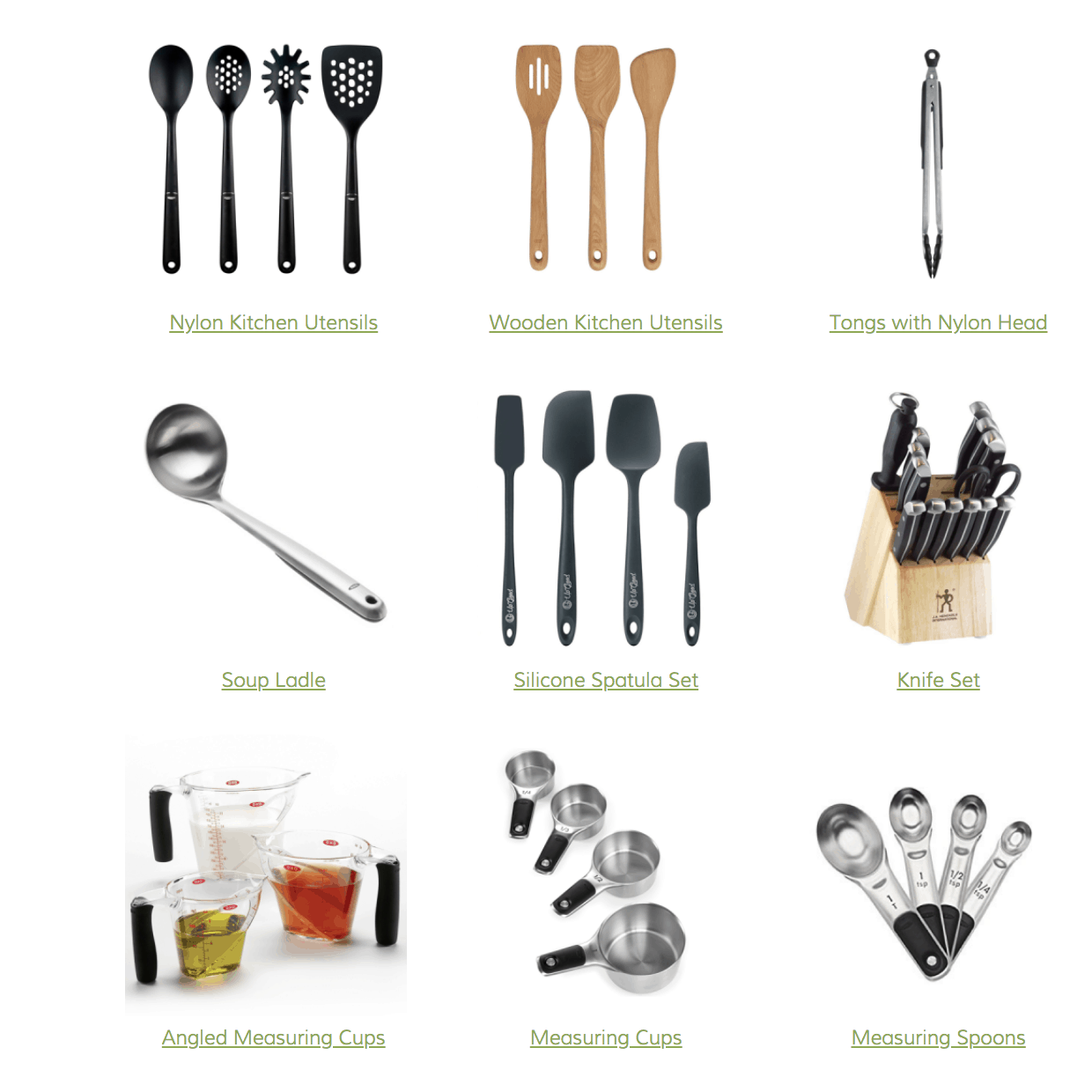 Favorite Kitchen Utensils And Small Gadgets