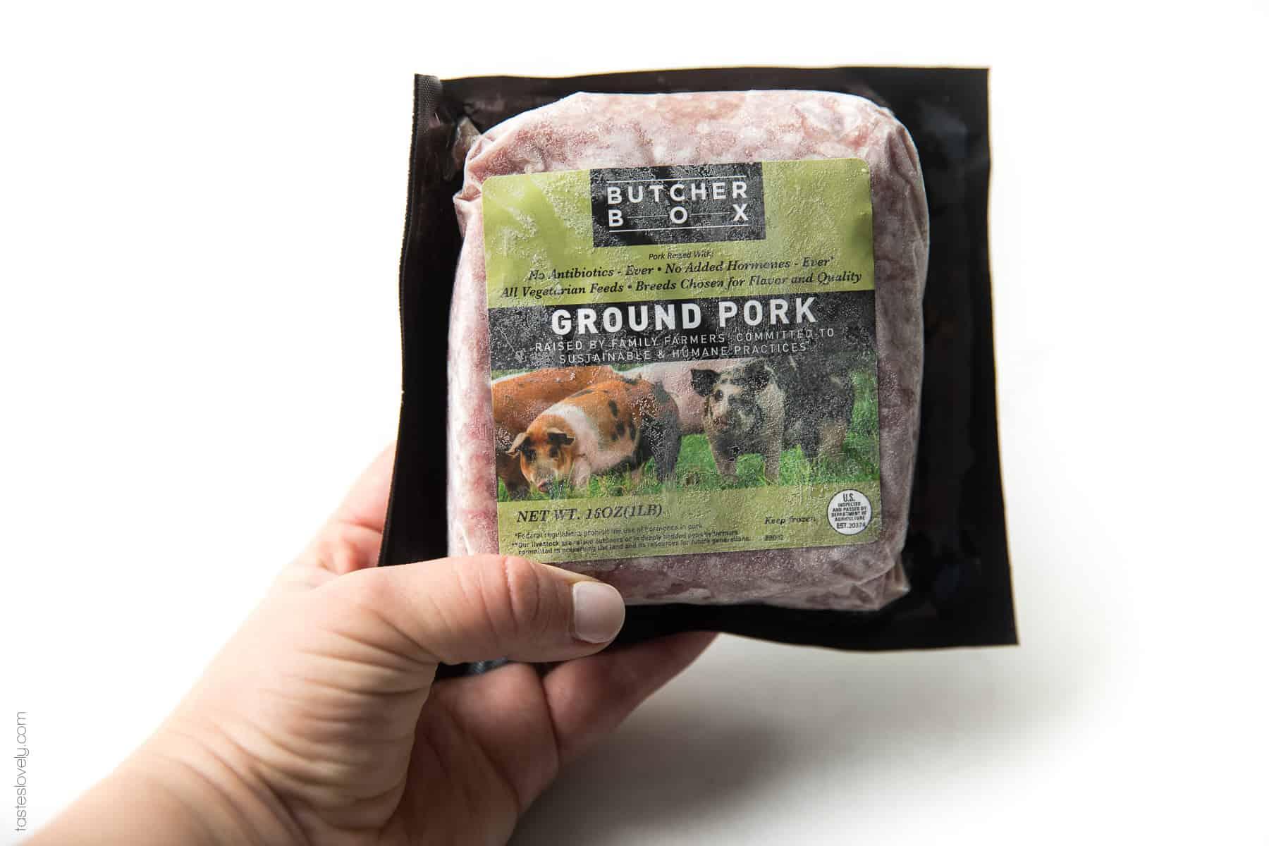 Butcherbox ground pork