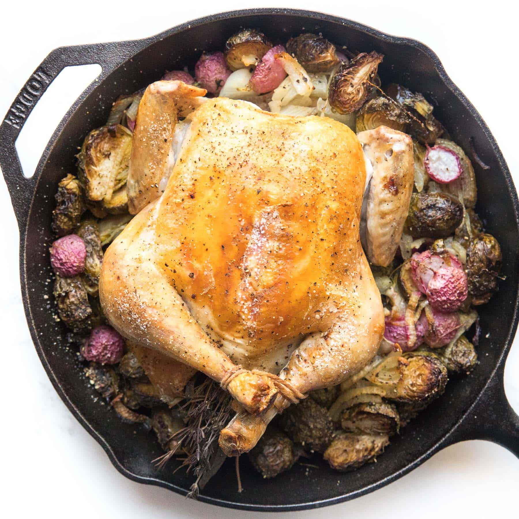 Whole30 + Keto Perfect Roast Chicken