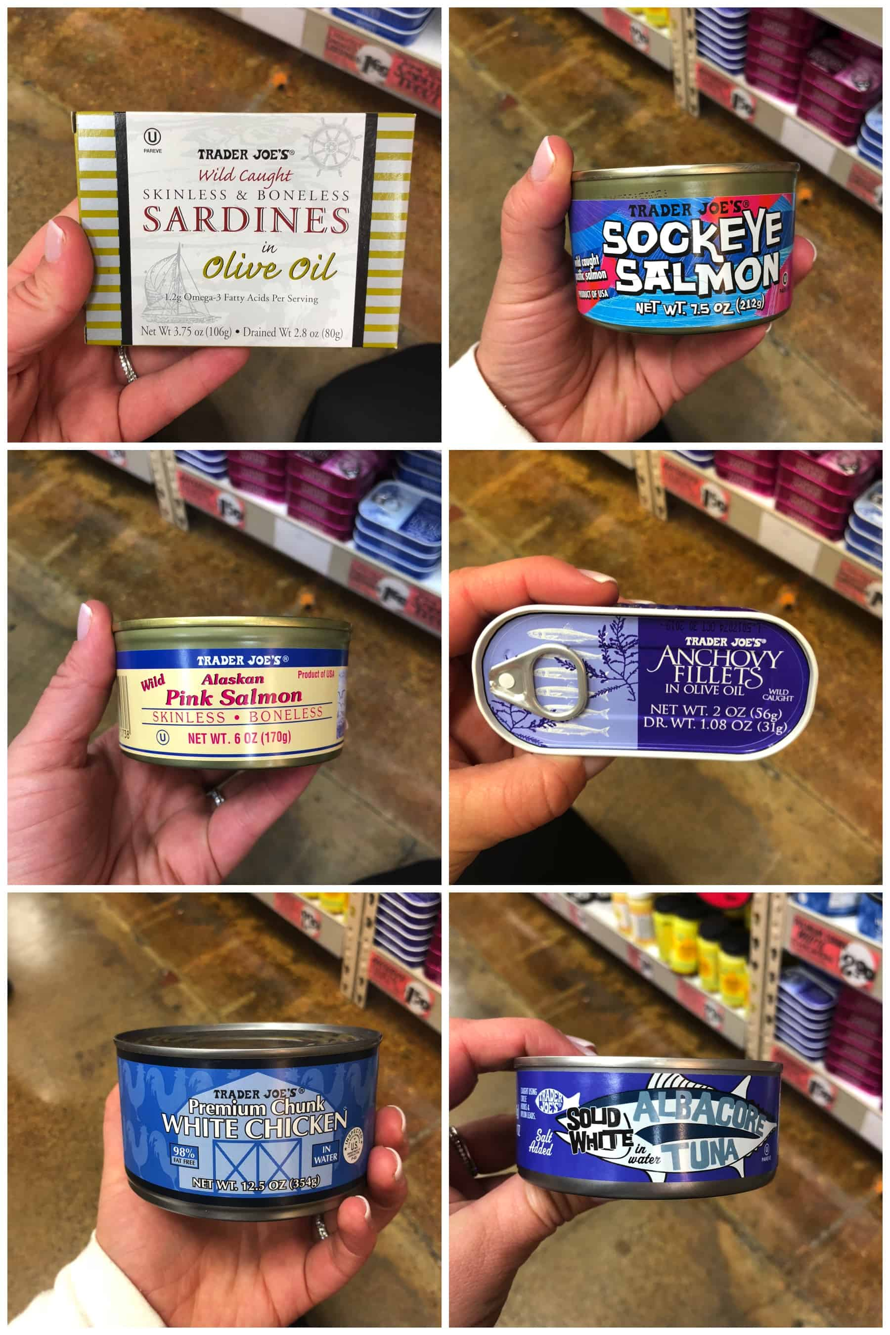 Trader Joe's Whole30 Canned Meats