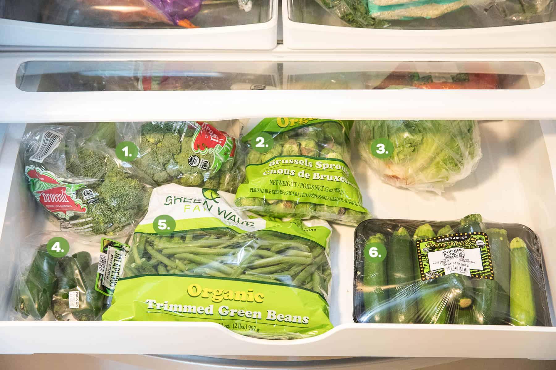 a whole30 stocked refrigerator