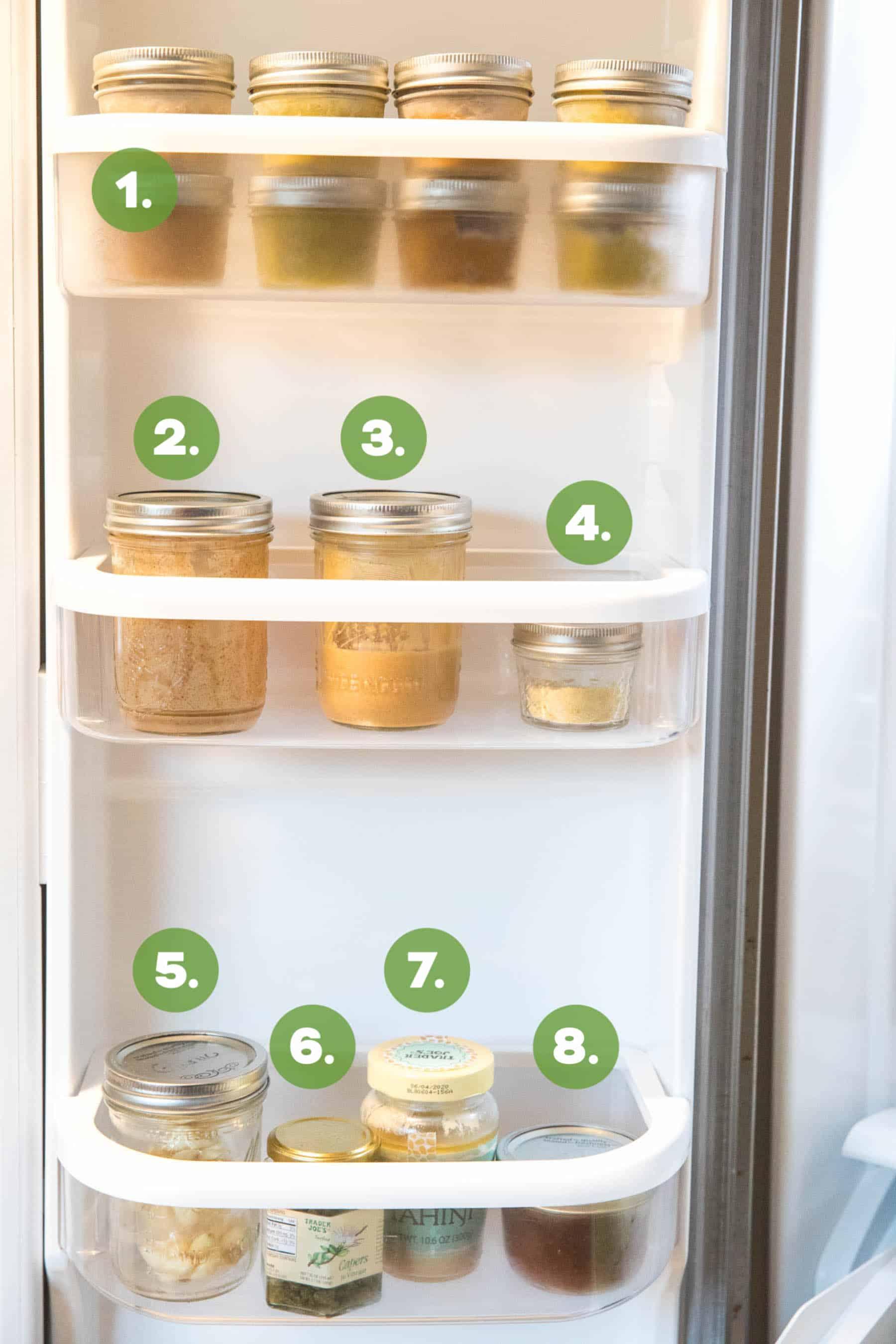 Whole30 stocked refrigerator