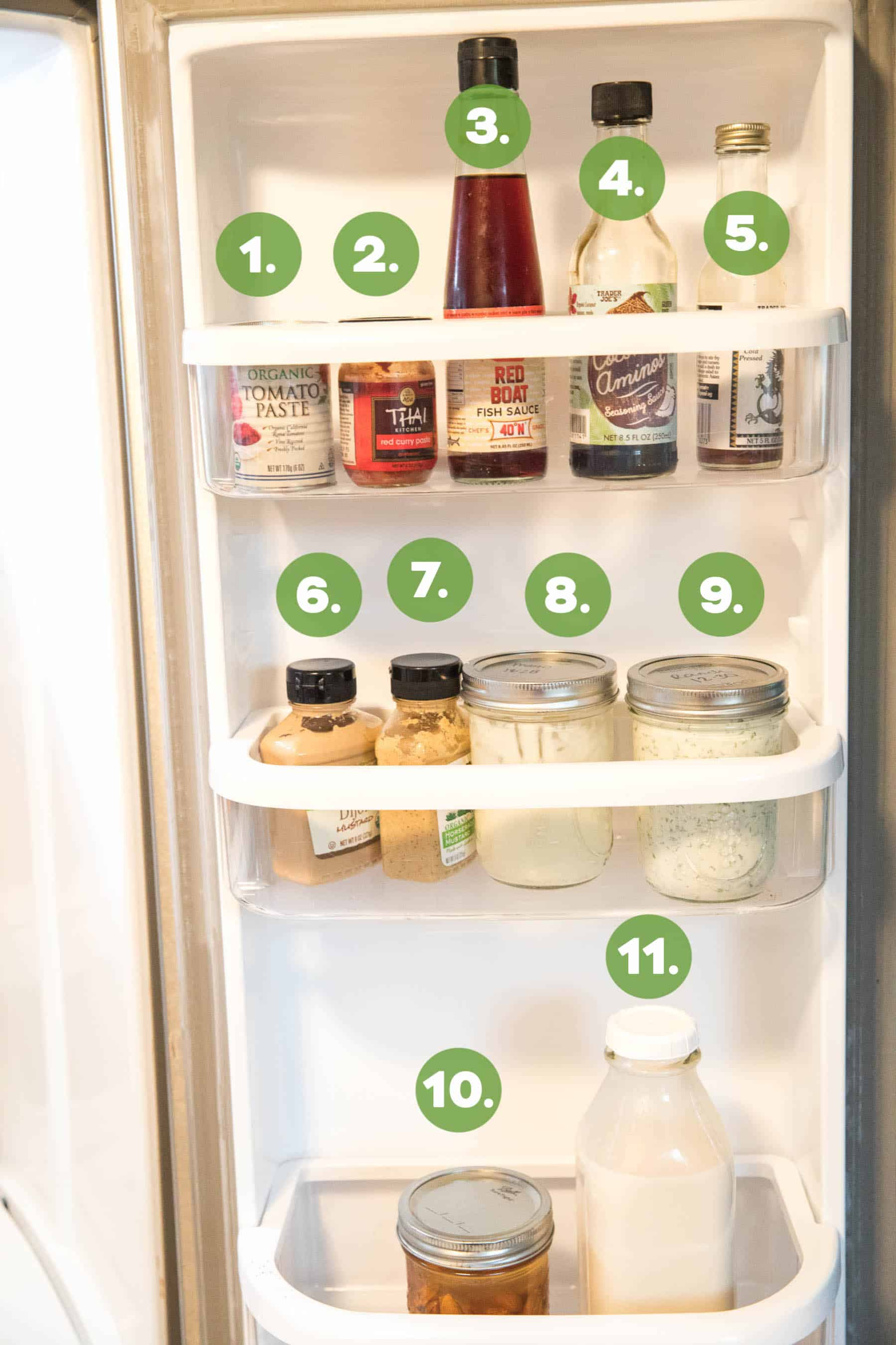 whole30 stocked fridge