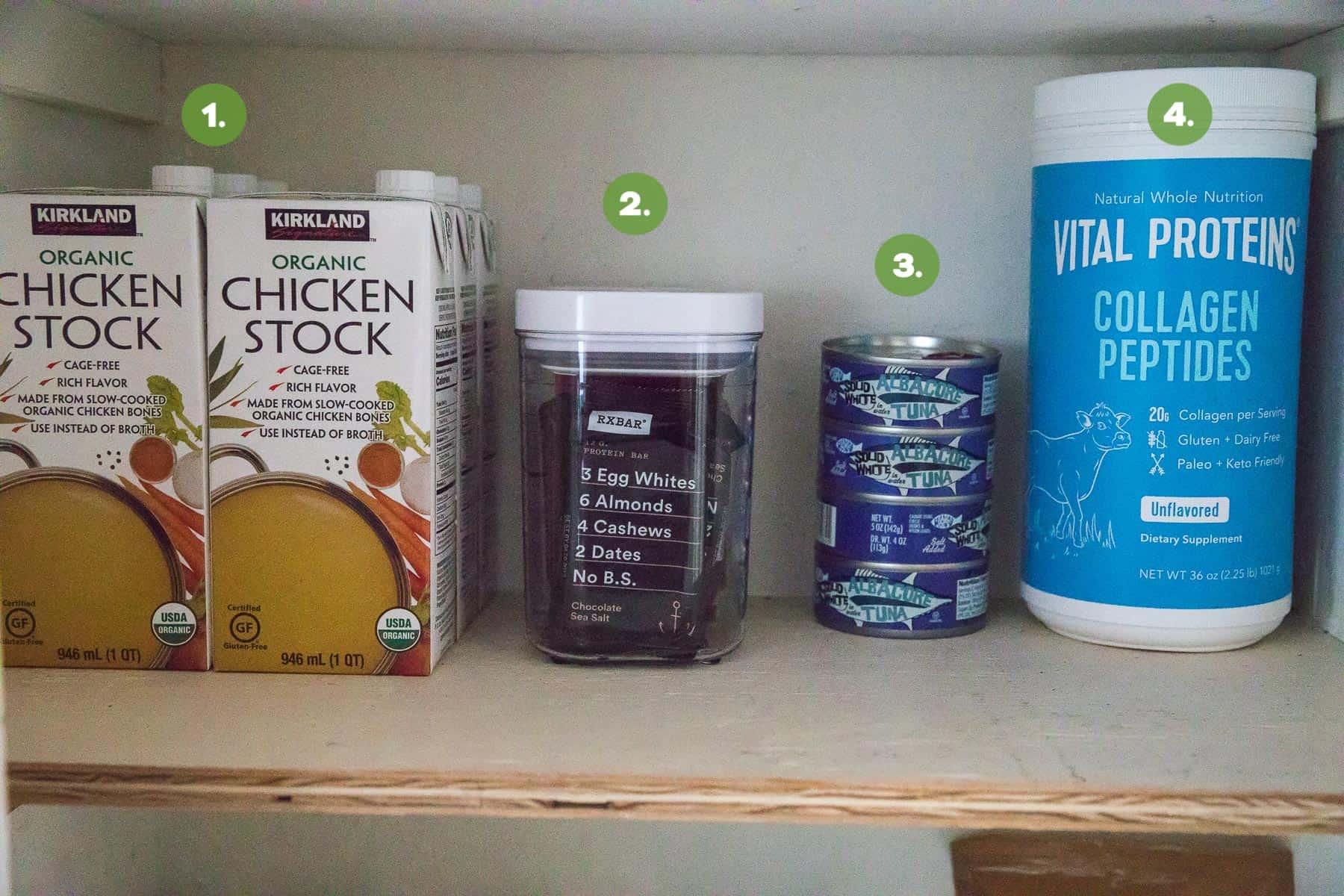 Whole30 stocked pantry