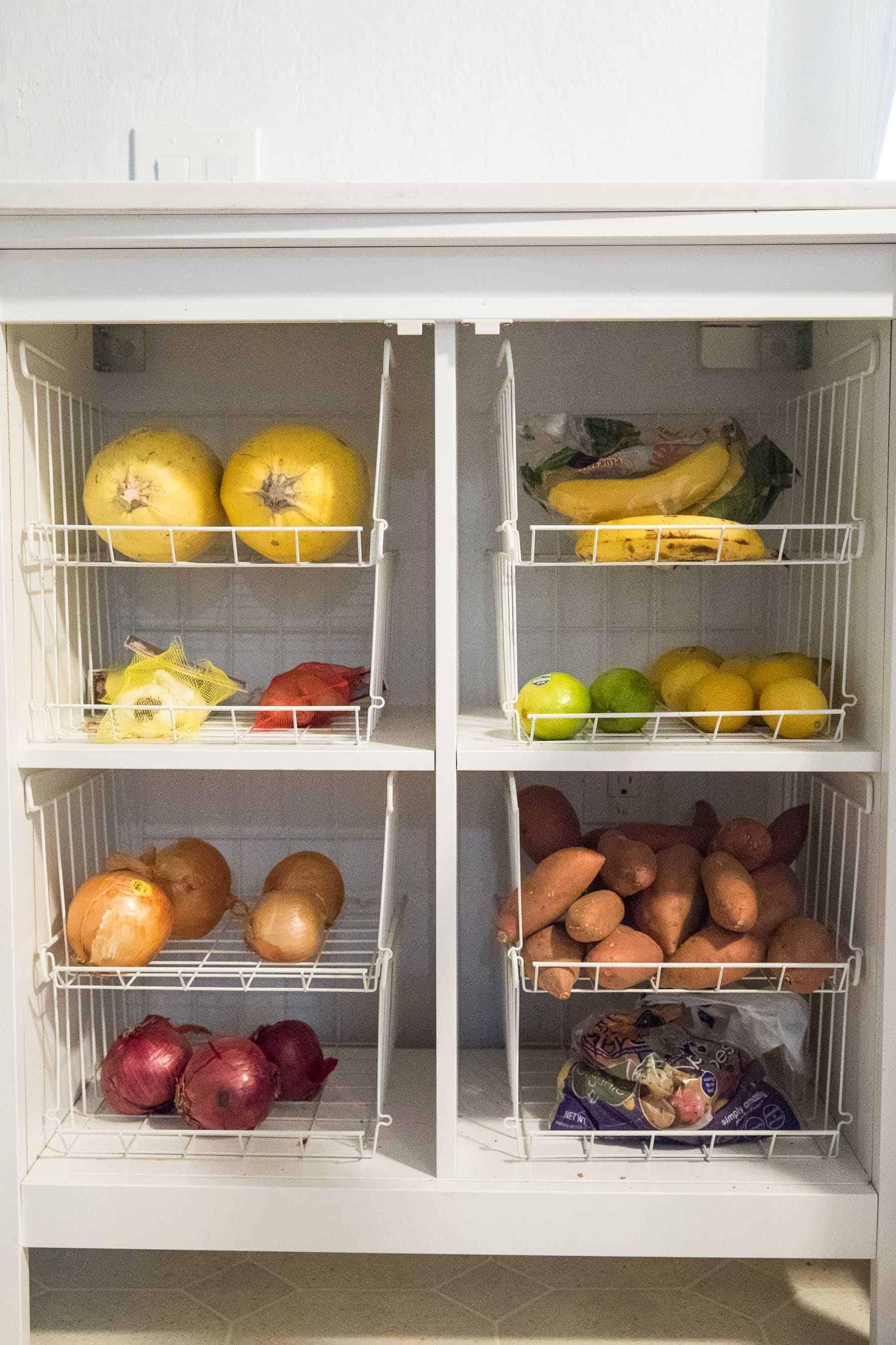 Dry produce whole30 stocked items