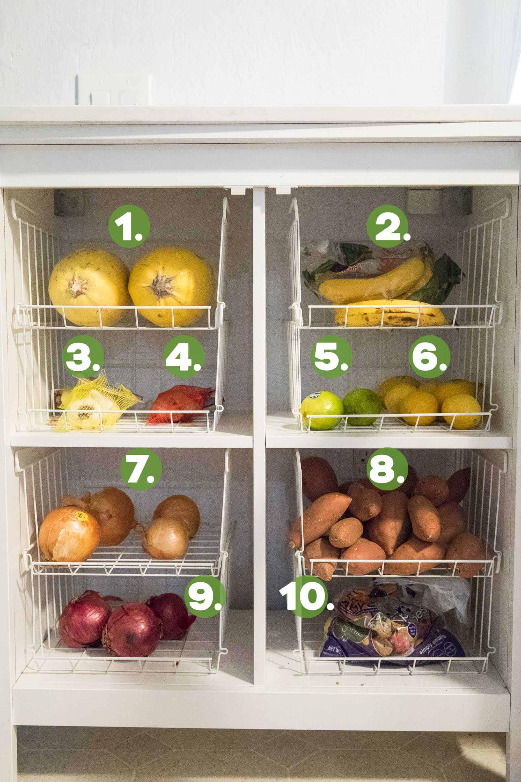 Dry Produce stocked whole30 items