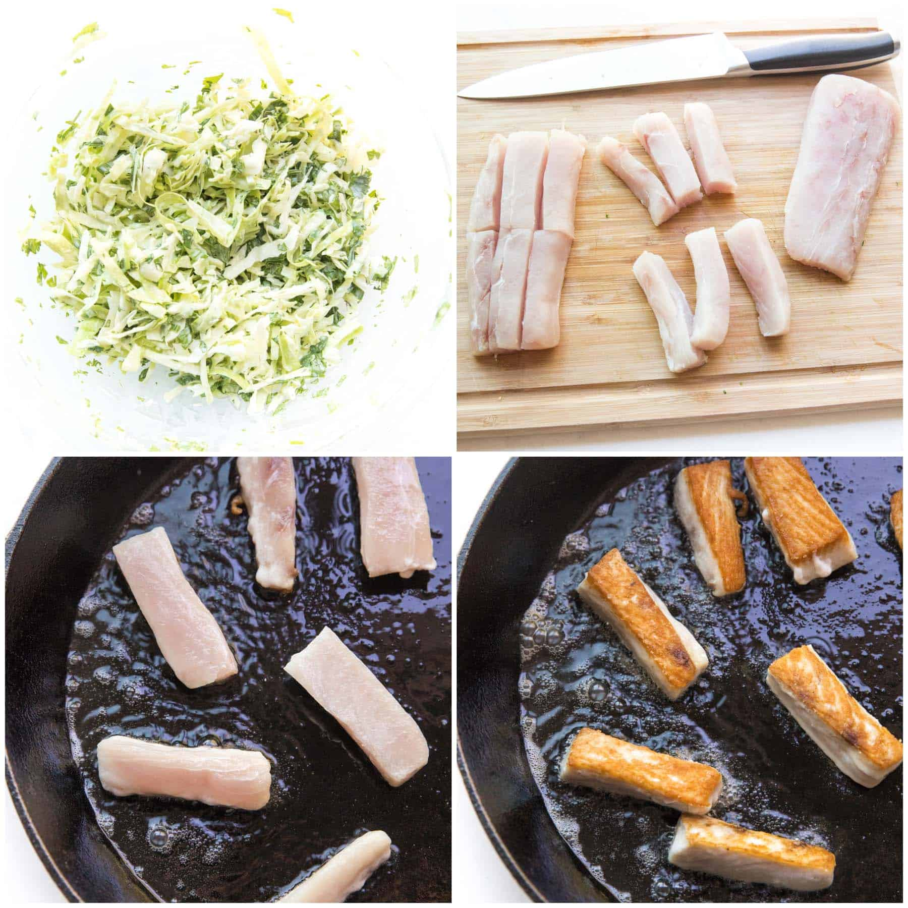 steps to making fish tacos
