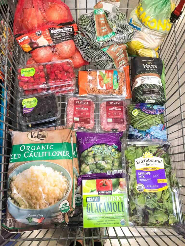 whole30 + keto groceries at costco