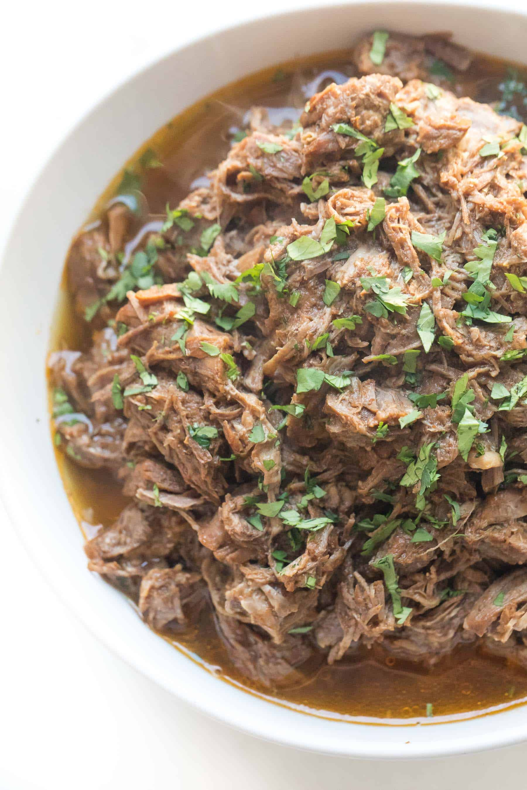 barbacoa in a white bowl