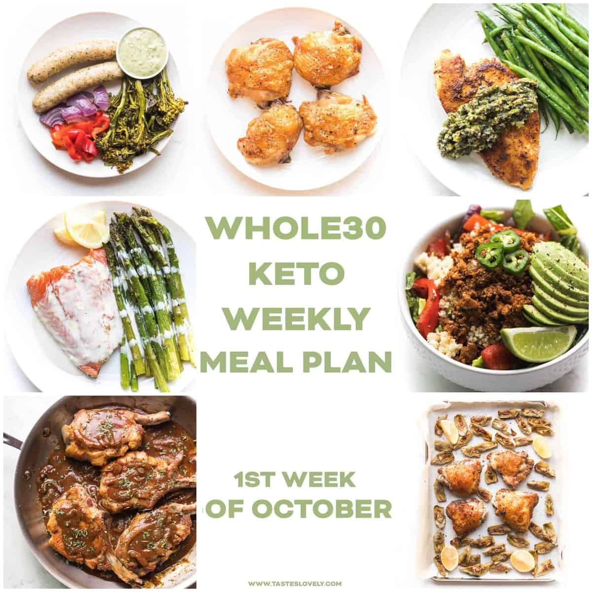 Keto Meal Day 1