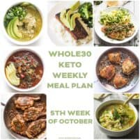 whole30 keto weekly meal plan recipe photo roundup