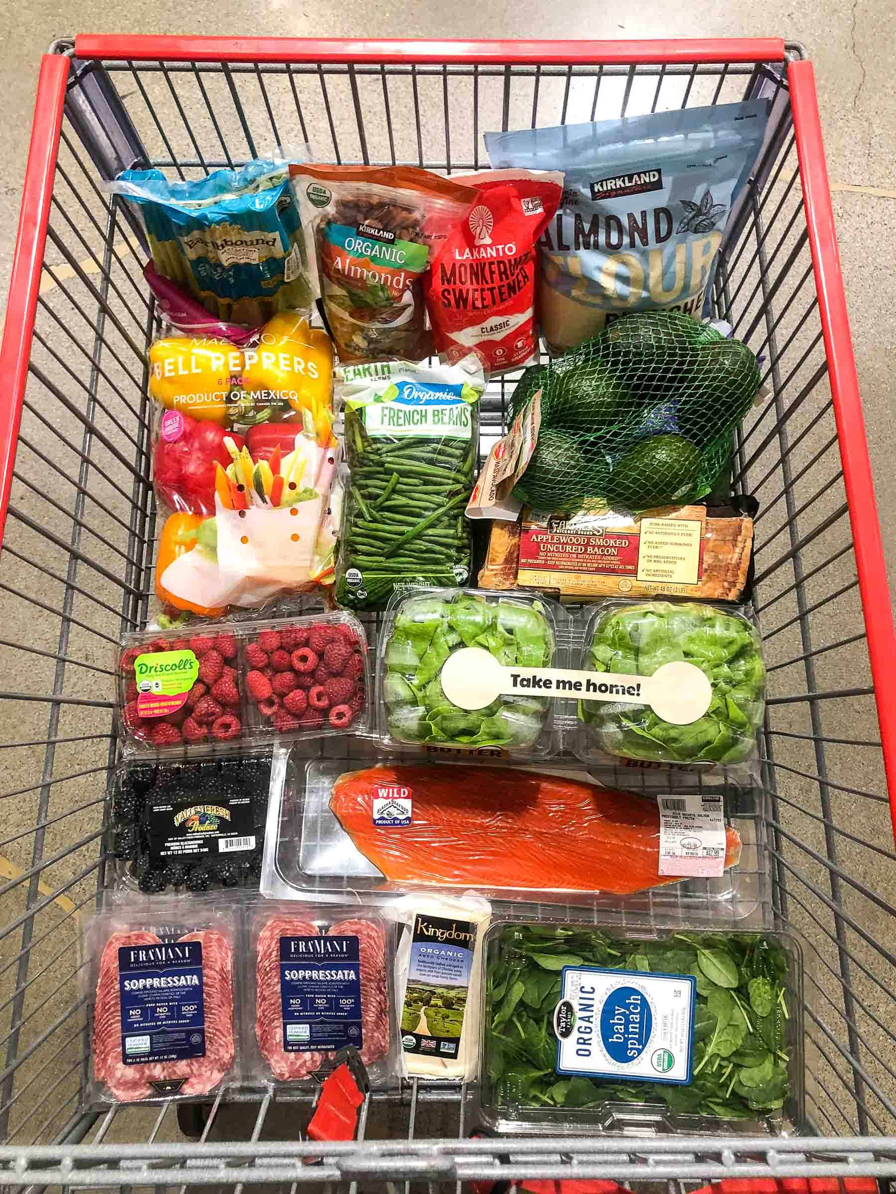 whole30 keto grocery haul groceries costco