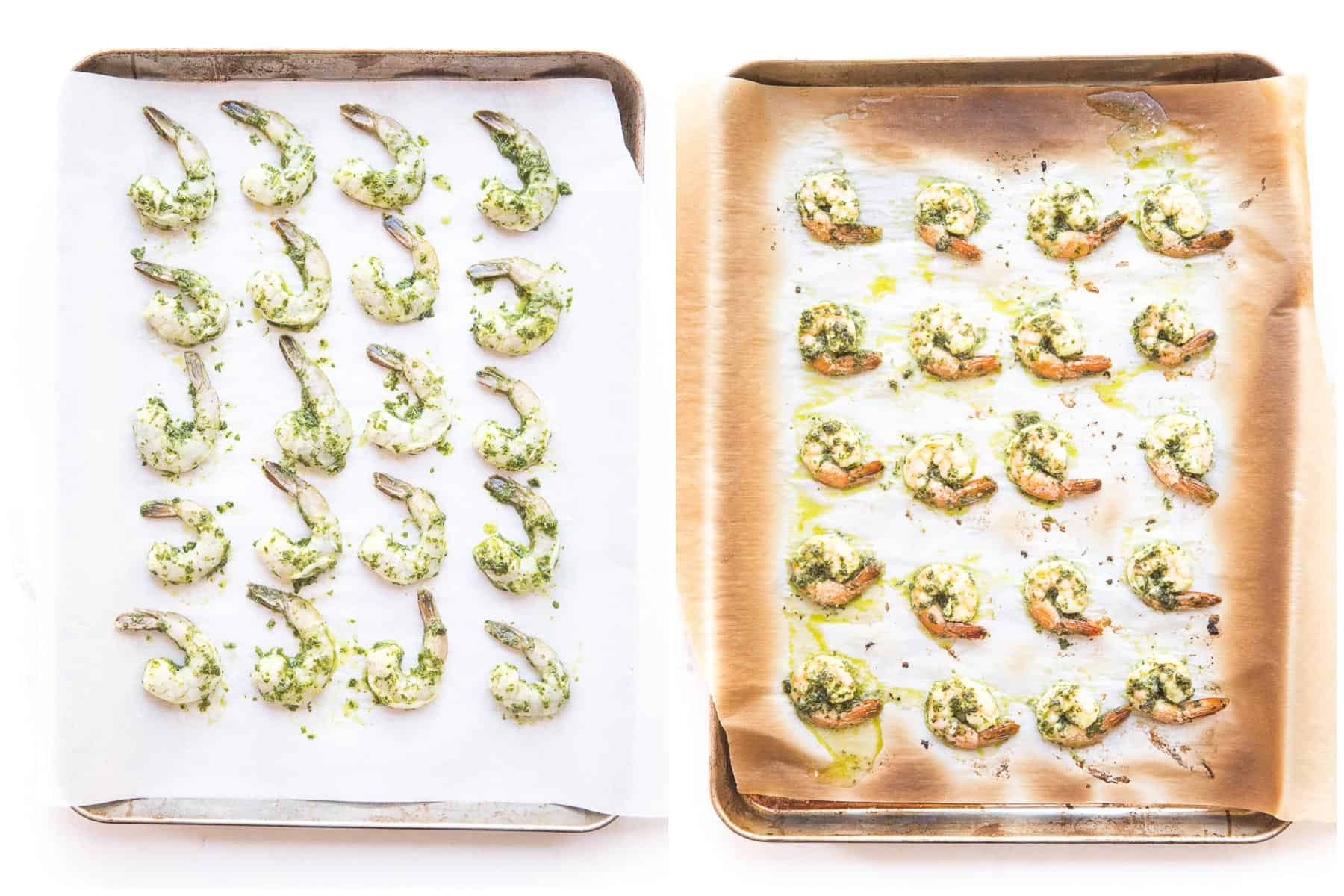 how to broil chimichurri shrimp on the oven