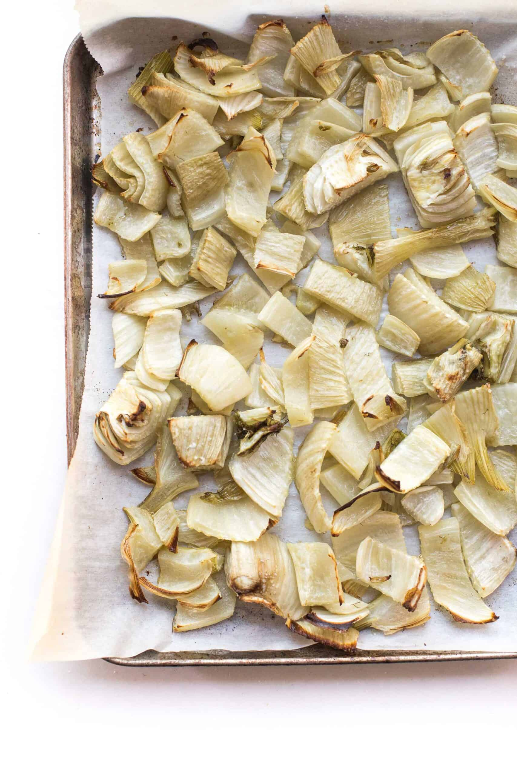 ROASTED FENNEL ON A SHEET PAN