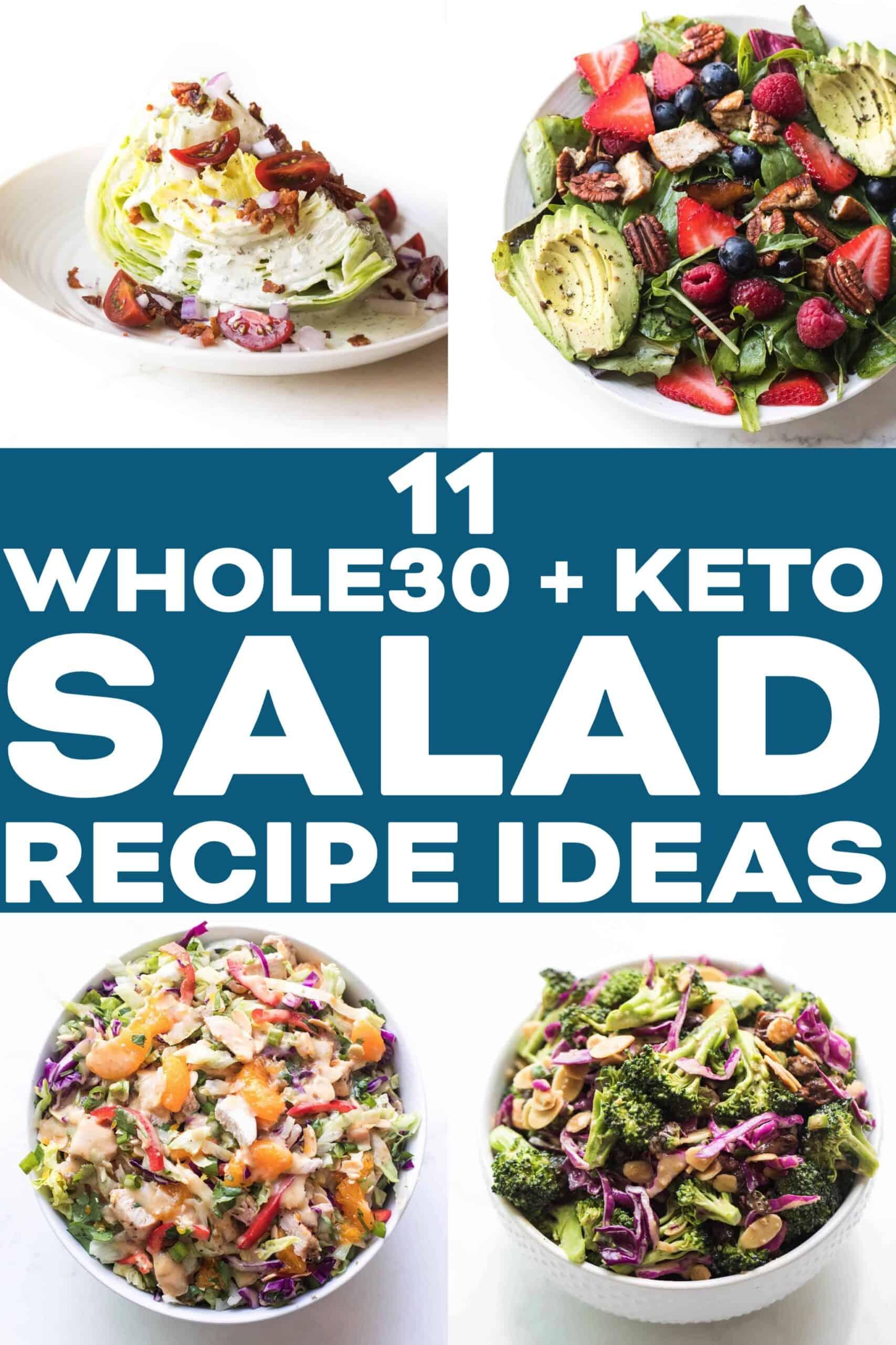 WHOLE30 KETO SALAD RECIPES