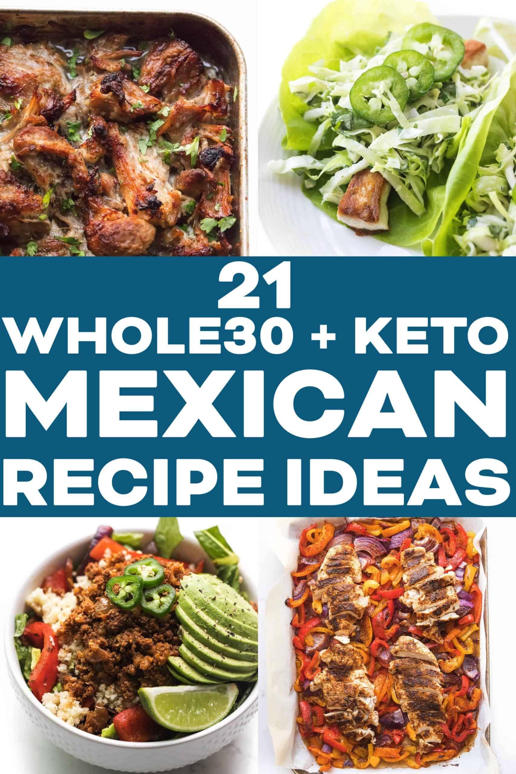 KETO MEXICAN RECIPE IDEAS