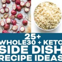 KETO SIDE DISH RECIPE ROUNDUP