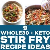 KETO STIR FRY RECIPE ROUNDUP