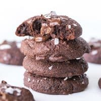 Paleo Salted Chocolate Brownie Cookies