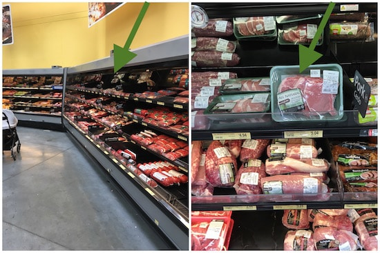 Where to find Smithfield All Natural Bone-In Pork Chops at Walmart