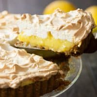 Coconut Oil Lemon Meringue Pie