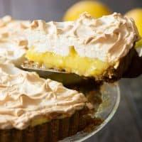 Coconut Oil Lemon Meringue Pie | tasteslovely.com