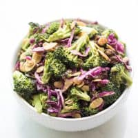 Paleo + Whole30 Broccoli Salad