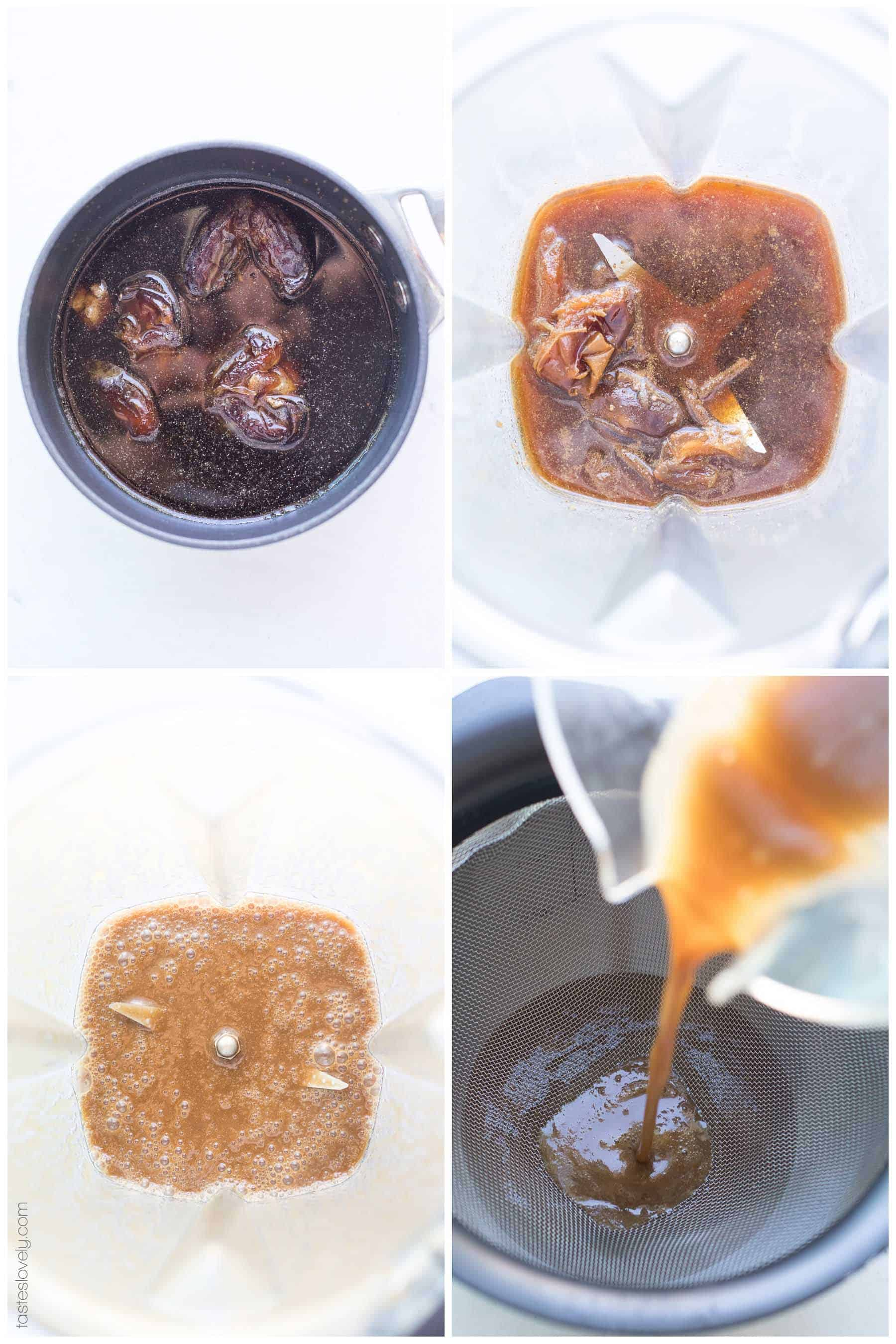 Paleo + Whole30 Homemade Worcestershire Sauce Recipe - tastes exactly like the real deal but sugar free and soy free! Made with coconut aminos and dates. #paleo #whole30 #glutenfree #grainfree #soyfree #sugarfree
