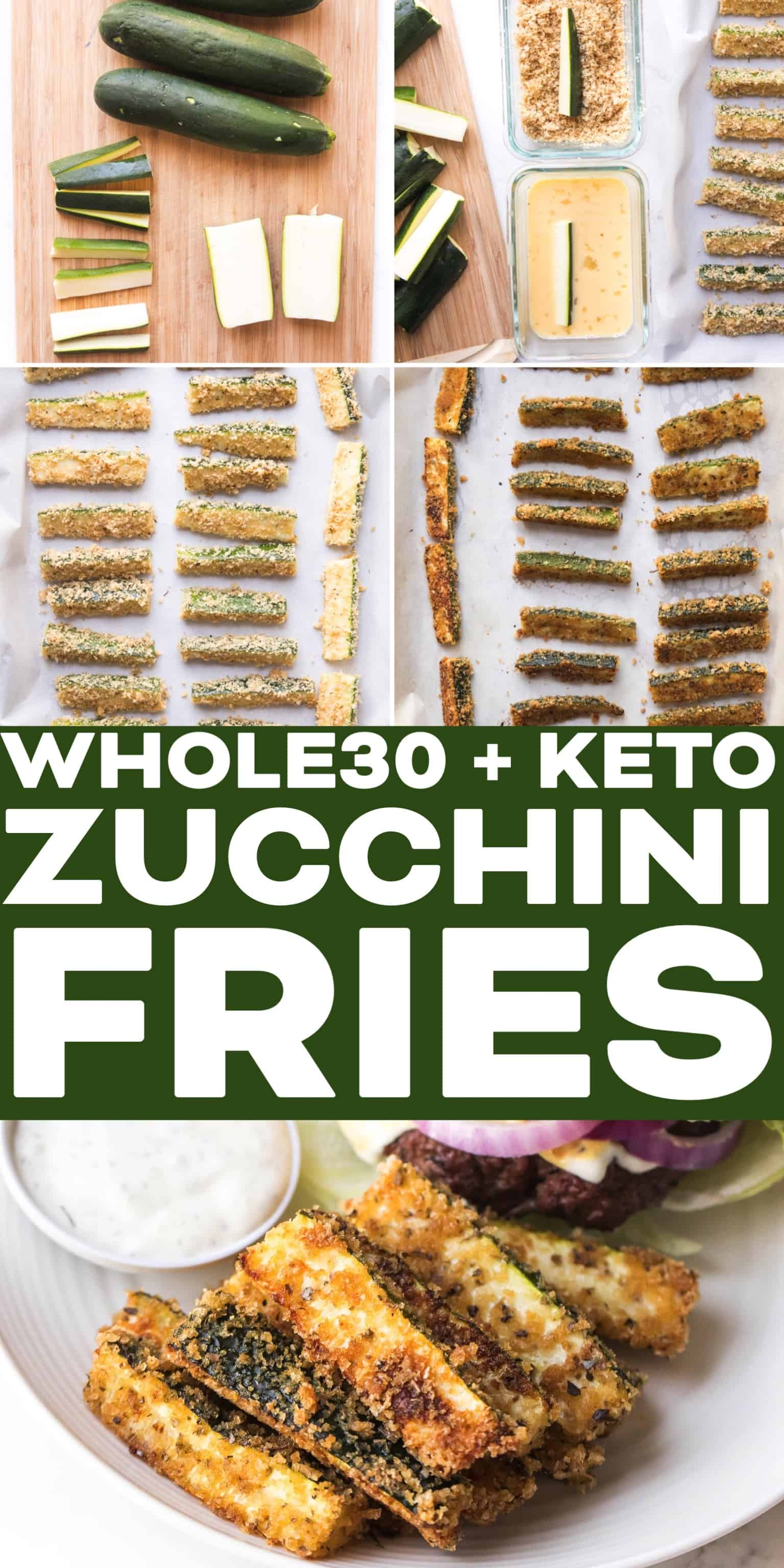 Whole30 Keto Zucchini Fries Tastes Lovely