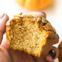 Paleo Pumpkin Muffins with Almond Flour