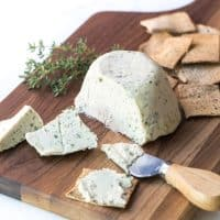 Herbed Cashew Cheese (Paleo, Whole30, Keto)