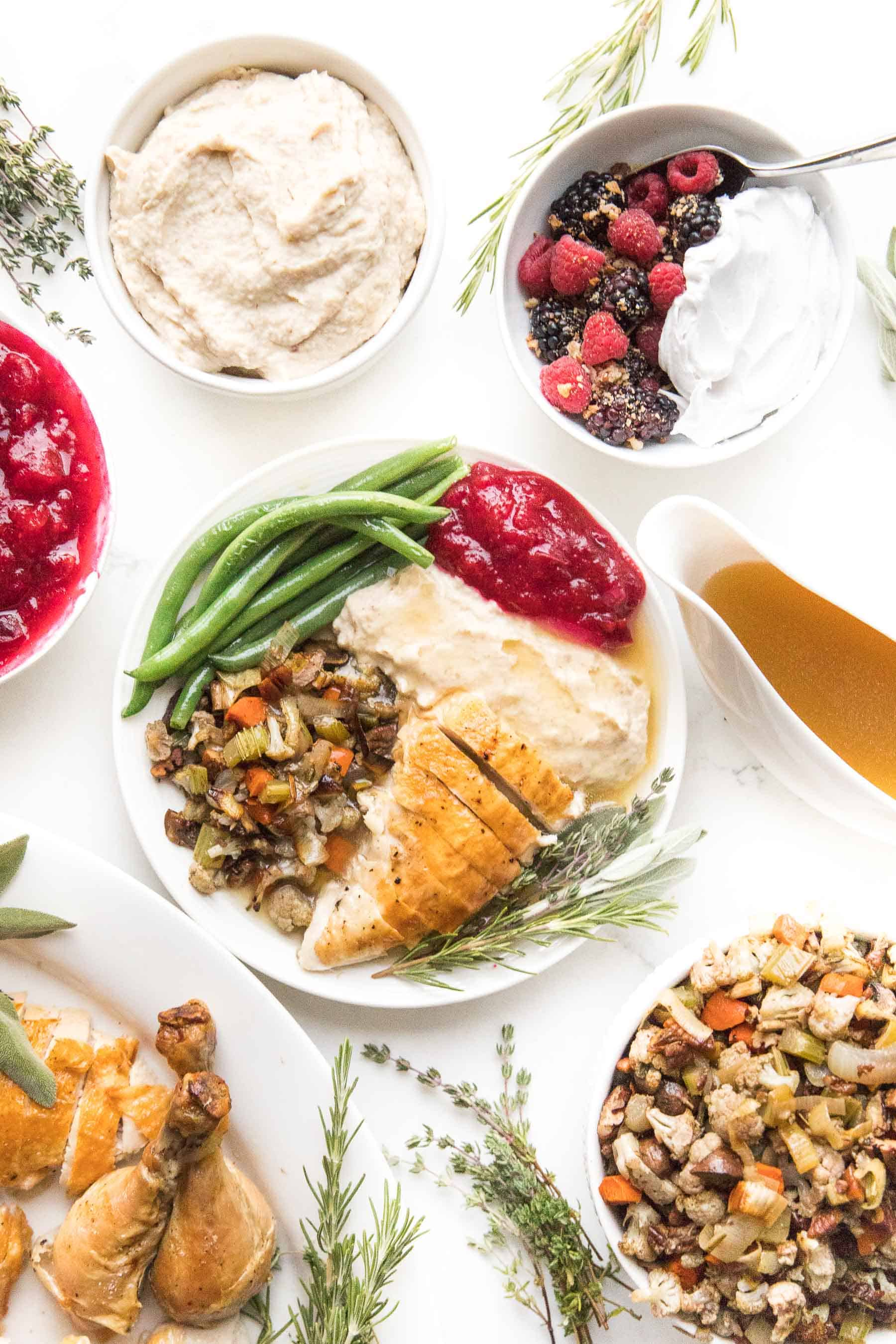 whole30 + keto thanksgiving recipes menu guide