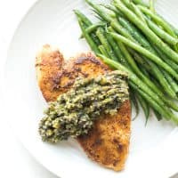 Paleo + Whole30 Chicken with Olive Tapenade