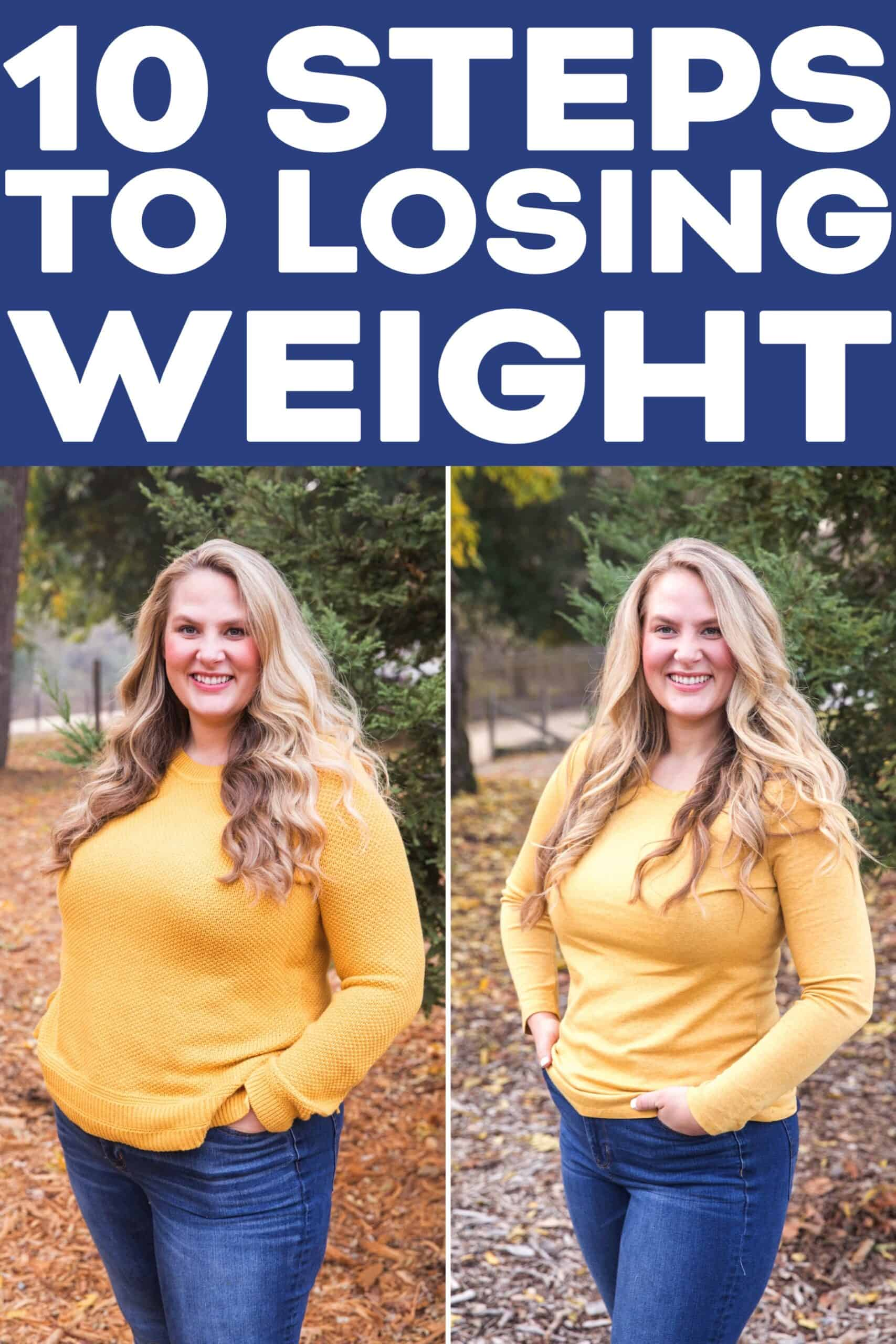 The 10 Steps To Start Clean Eating + Losing Weight